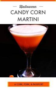 Halloween Candy Corn Martini