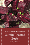 Healthy Cumin Roasted Beets 1