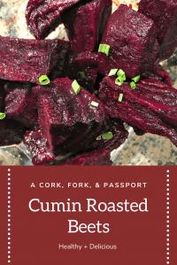Healthy Cumin Roasted Beets 1