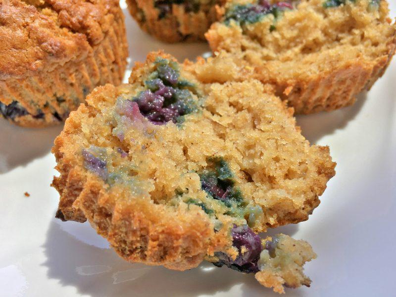 Honey Blueberry Oat Muffins5