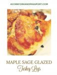 Maple Sage Glazed Turkey