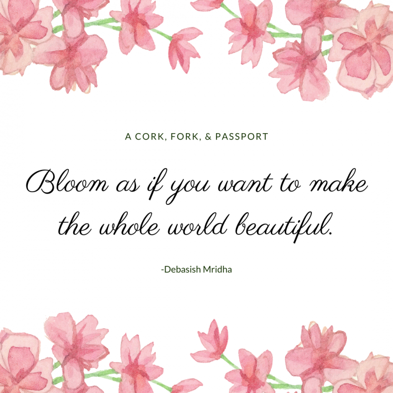 March Self Care Challenge for Women Blooming