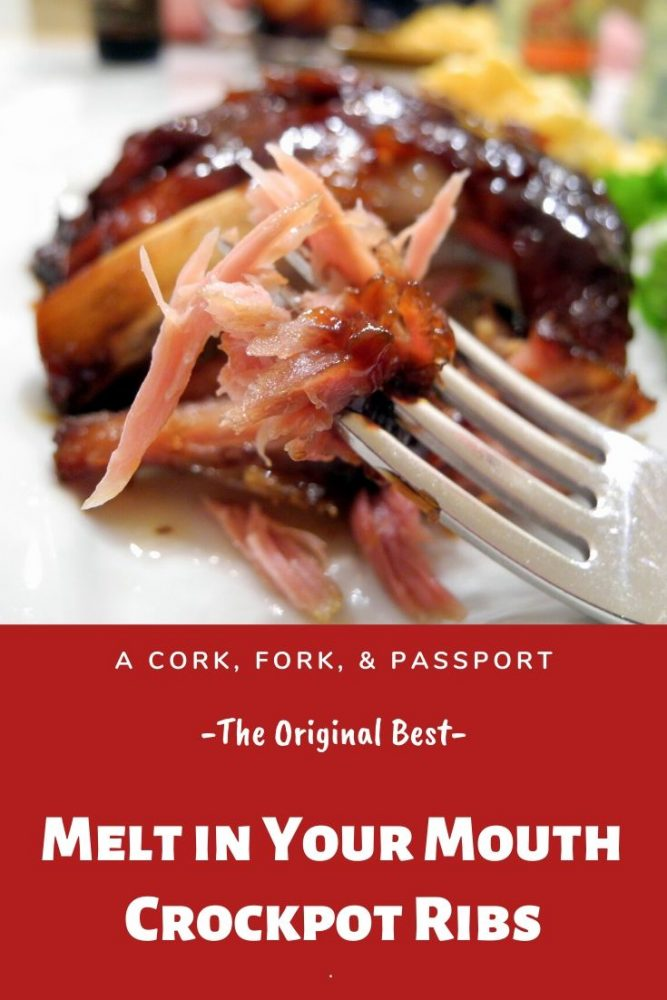 The Original Melt in Your Mouth Crockpot Ribs