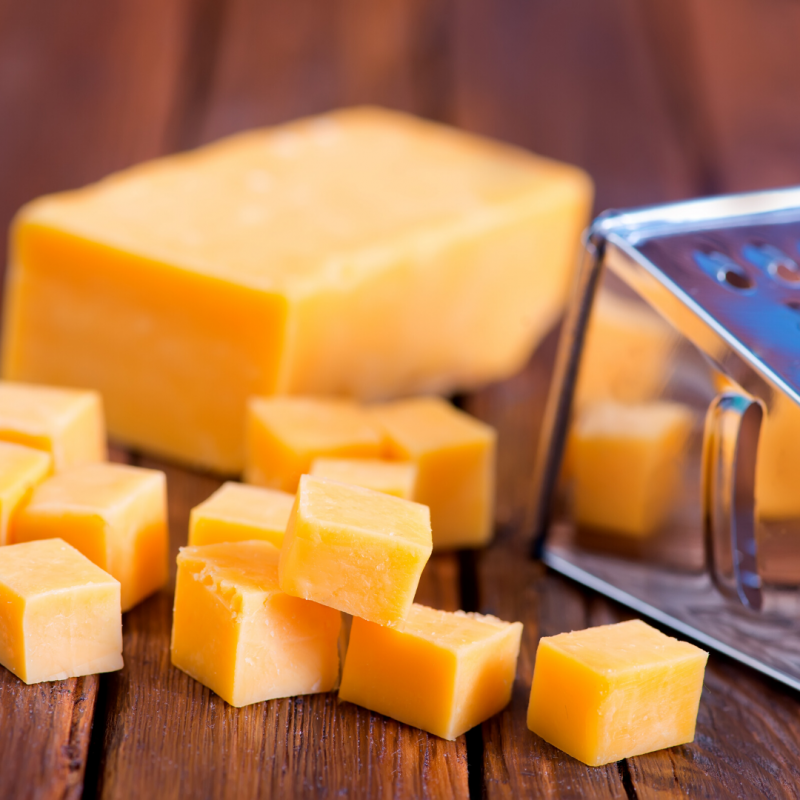 Tips to Keep Food Fresh Longer cheddar cheese